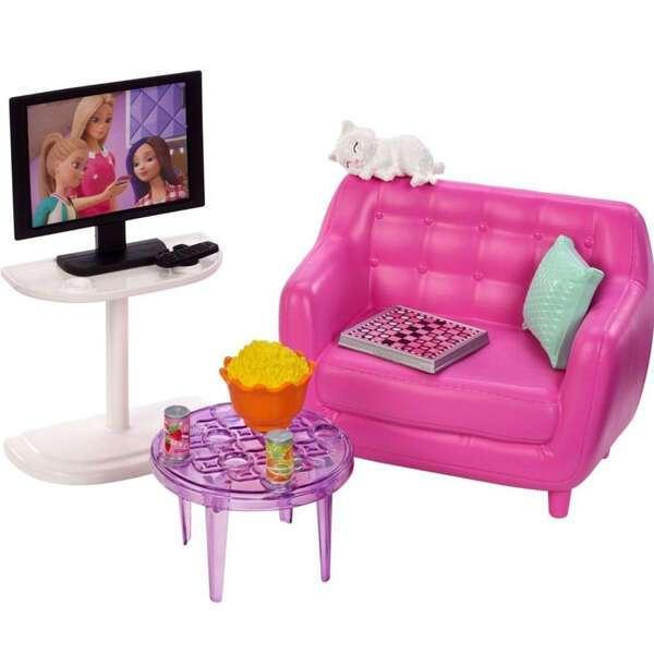 Набор мебели для дома. Гостиная Барби FXG36
