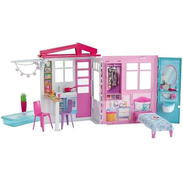 """Игровой набор """"Раскладной домик"""" Барби FXG54"""