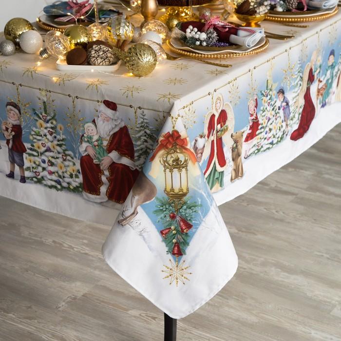 """Скатерть  Этель """"Christmas time""""150х110 см, хлопок 100%"""
