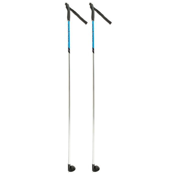 Палки лыжные алюминиевые Snowline, 130 см, цвет МИКС