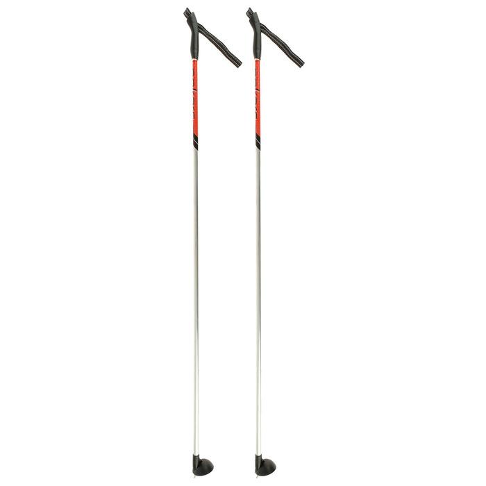 Палки лыжные алюминиевые Snowline, 140 см, цвет МИКС