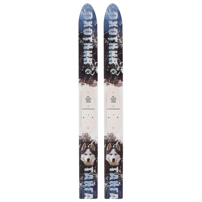 Лыжи деревянные «Тайга» 155 см