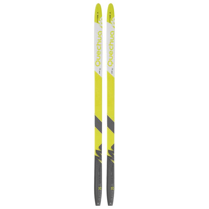 Лыжи пластиковые БРЕНД ЦСТ step 120 см
