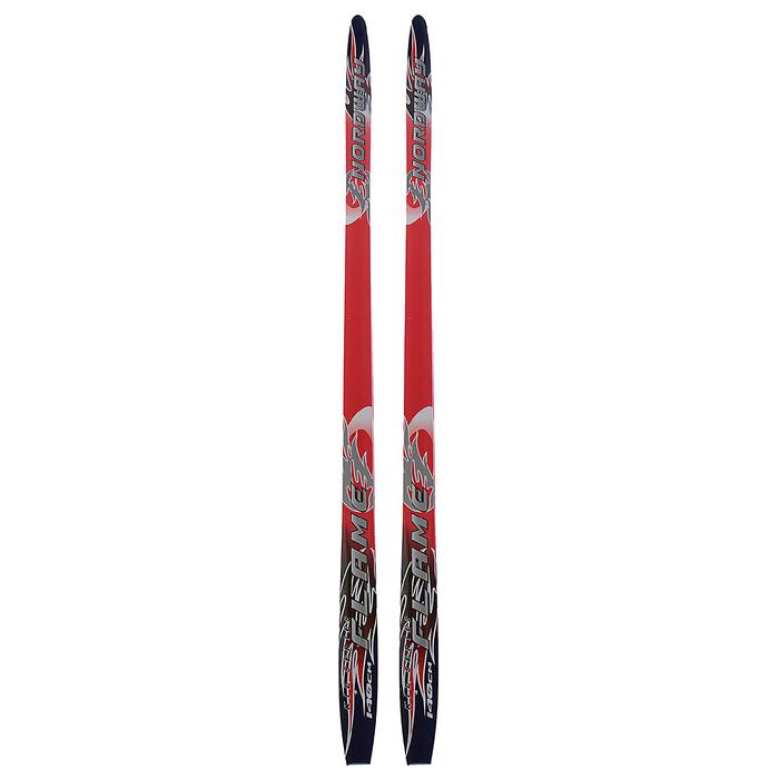 Лыжи пластиковые БРЕНД ЦСТ step, 140 см, цвета МИКС