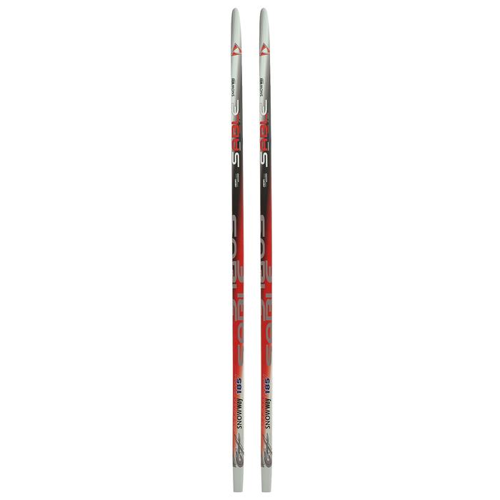 Лыжи пластиковые БРЕНД ЦСТ, 185 см, цвет МИКС