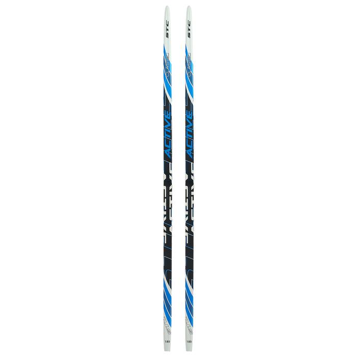 Лыжи пластиковые БРЕНД ЦСТ step, 185 см, цвет МИКС