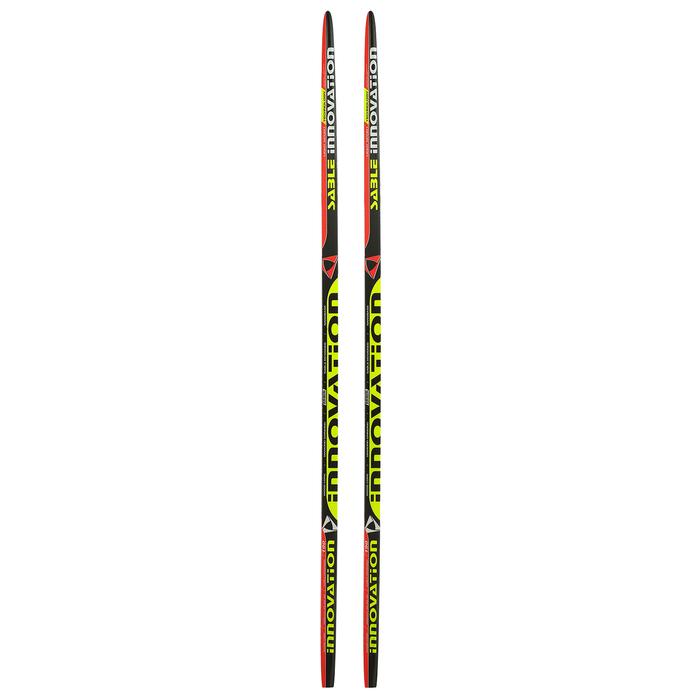 Лыжи пластиковые БРЕНД ЦСТ step, 190 см, цвет МИКС