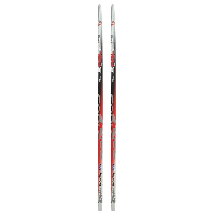 Лыжи пластиковые БРЕНД ЦСТ, 200 см, цвет МИКС
