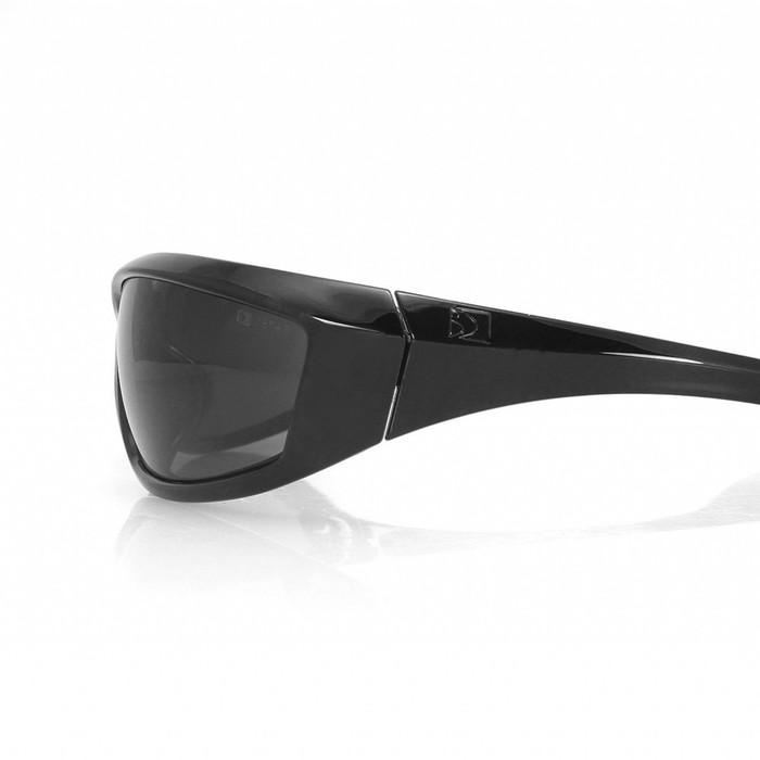 Очки Charger чёрные с дымчатыми линзами ANTIFOG ANSI Z87