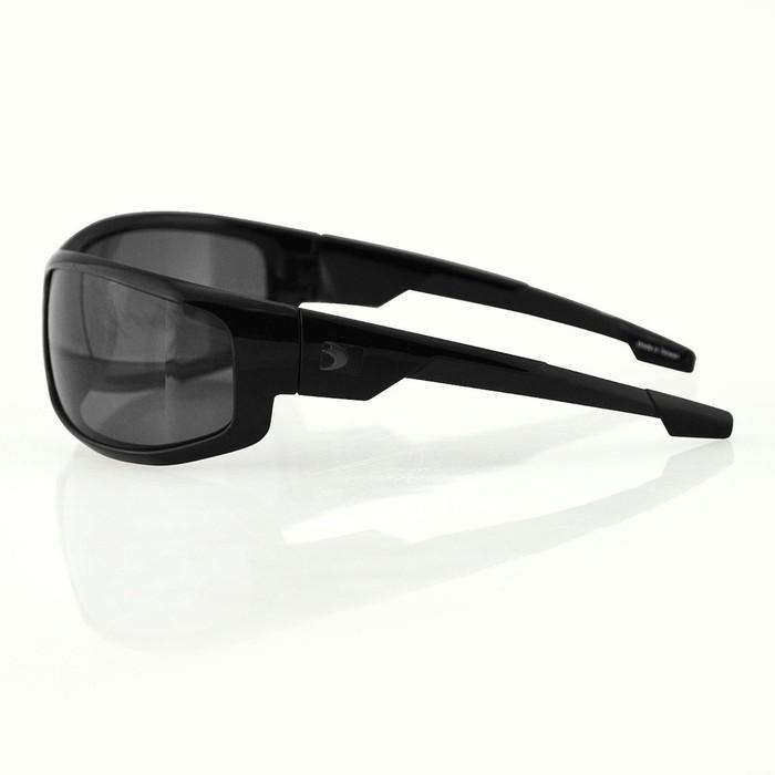 Очки AXL чёрные с дымчатыми линзами ANTIFOG