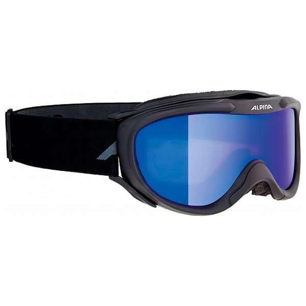Очки горнолыжные Alpina 2018-19 Freespirit HM black MM blue (4010113)