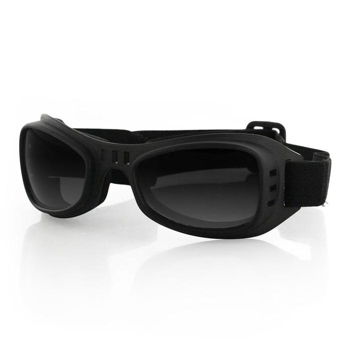 Очки Road Runner чёрные с дымчатыми линзами