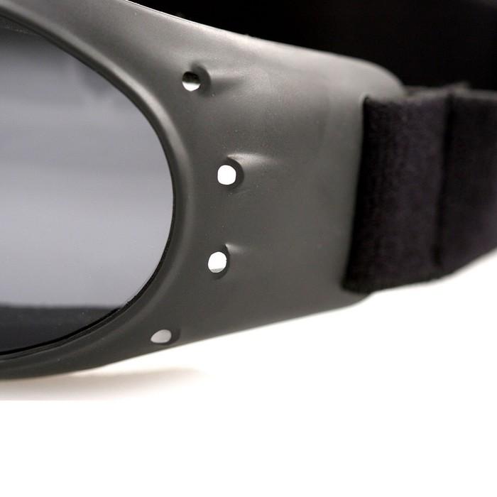 Очки Cruiser чёрные с зеркальными линзами ANTIFOG