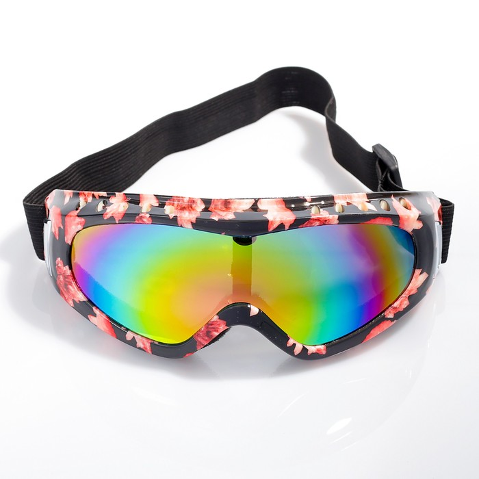 """Очки спортивные """"Koestler"""" KO-883, линзы радужные, оправа разноцветная"""