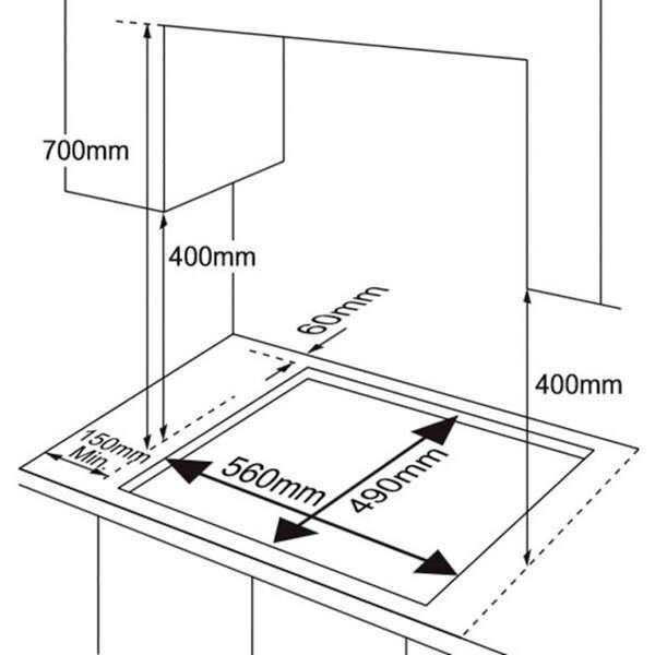 Встраиваемая варочная поверхность Samsung NA64H3010AS