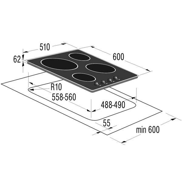 Встраиваемая поверхность Gorenje EC6INI
