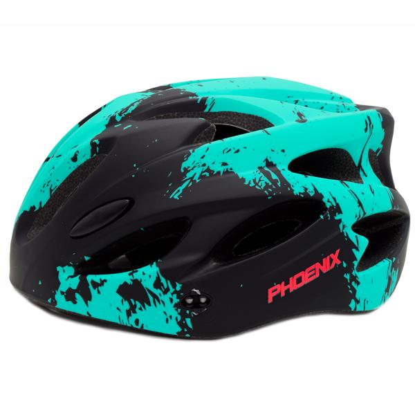 Шлем велосипедный Phoenix H-718 Black/Blue