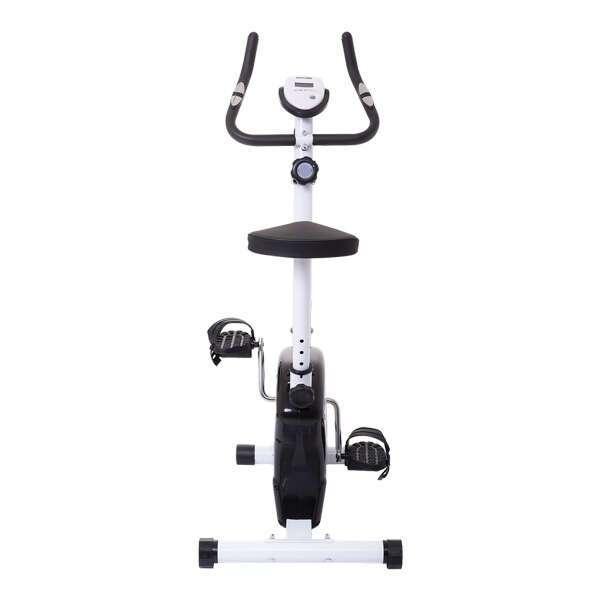 Велотренажер вертикальный магнитный Magnetic Bike AL6017, черный