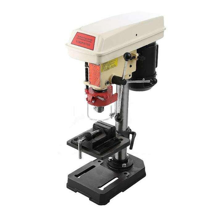 Станок сверлильный RedVerg RD-4113, 350 Вт, 620–2620/740-3140 об/мин, 13 мм, В16