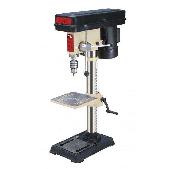 Станок сверлильный RedVerg RDQ-4116Z, 450 Вт, 220-2450 об/мин, 12 скор., 16 мм, МТ2