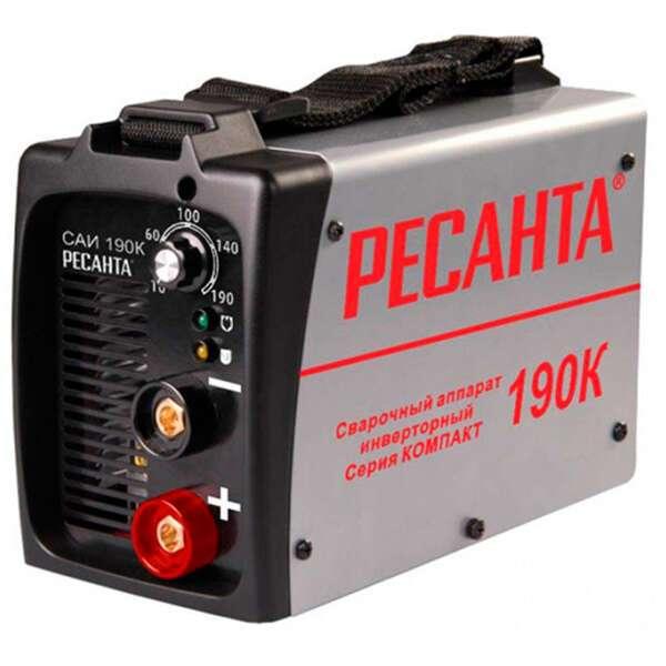 Сварочный аппарат  Ресанта САИ 190К компакт