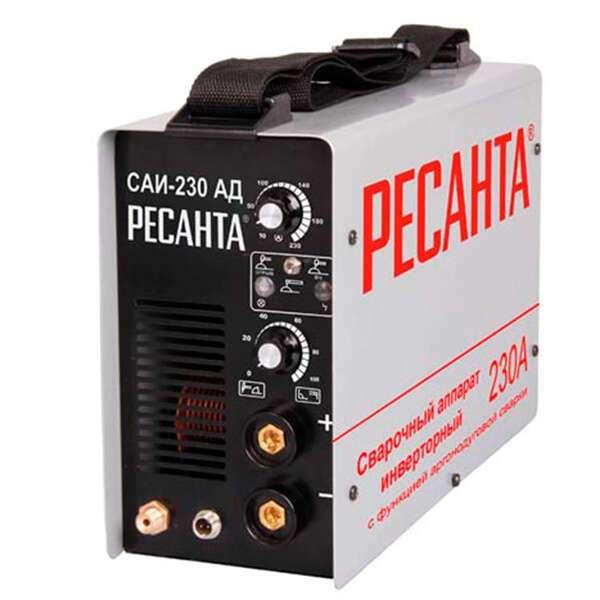 Сварочный аппарат инверторный Ресанта САИ-230-АД аргонодуговой