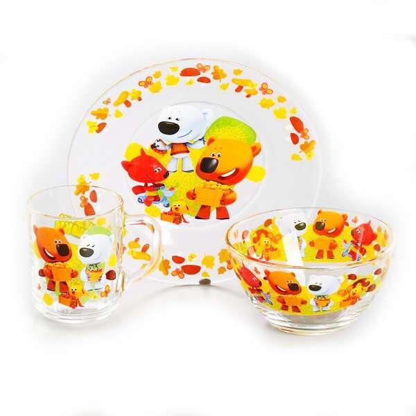 Набор посуды Ми-ми-мишки Веселый урожай (3296934)