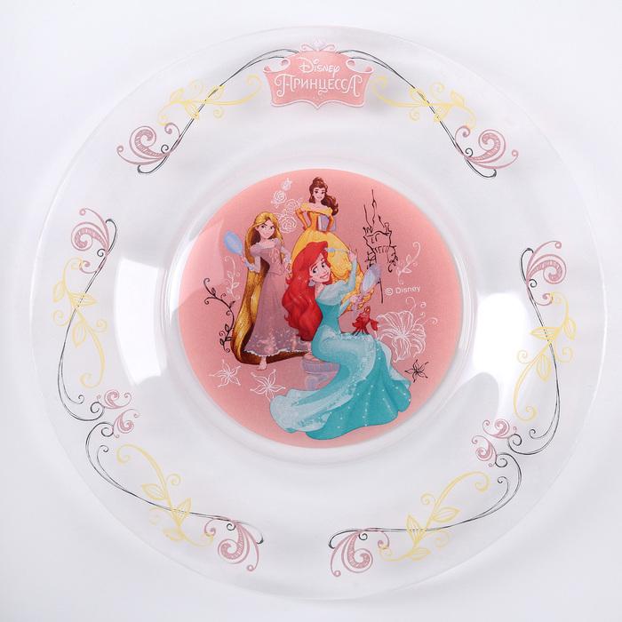 "Набор для завтрака ""Принцессы"", 3 предмета"