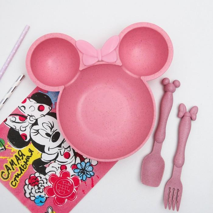 Набор детской посуды, Минни Маус