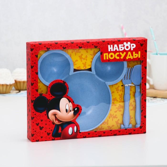 Набор детской посуды, Микки Маус