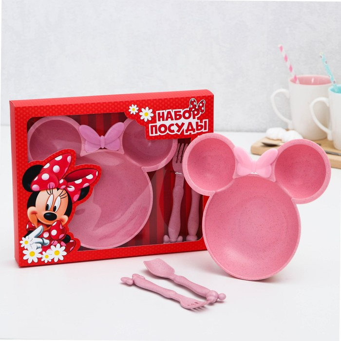 Набор посуды, Минни Маус