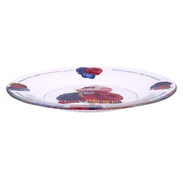 """Набор посуды """"Лето"""", 3 предмета: кружка 250 мл, миска 12,5 см, тарелка 19,5 см"""