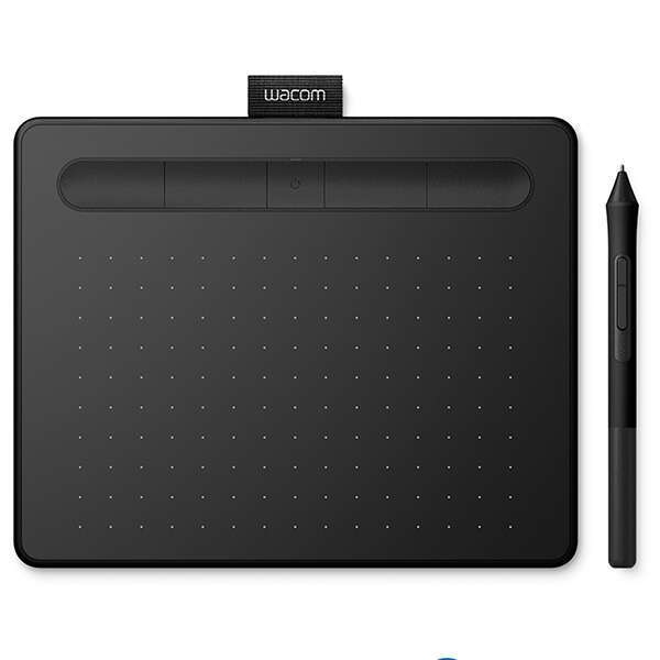 Графический планшет Wacom  Intuos Small Bluetooth (CTL-4100WLK-N) Чёрный