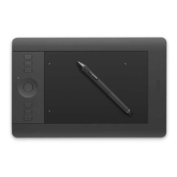 Графический планшет Wacom Intuos Pro Small EN/RU PTH-451 (Черный)