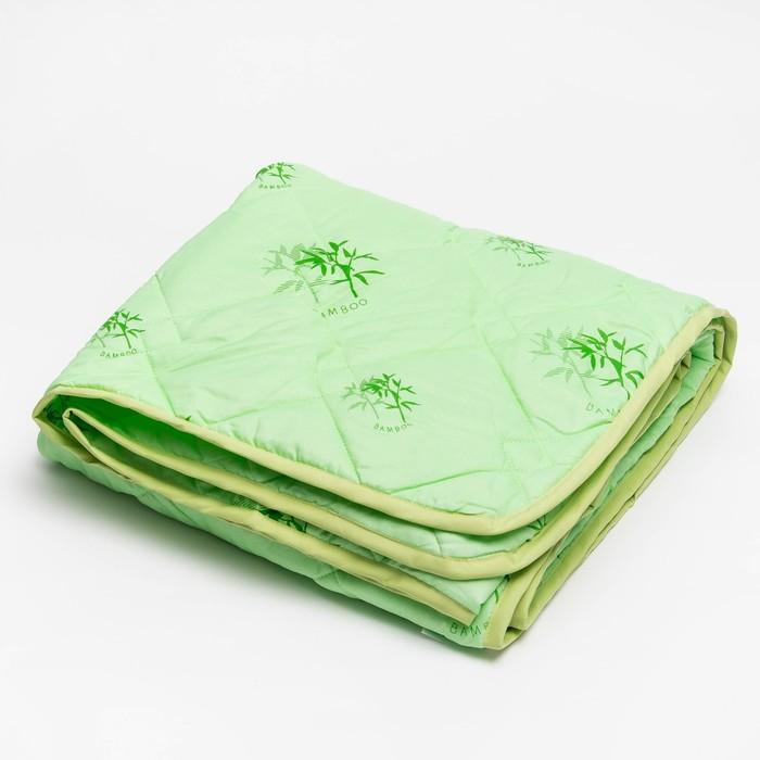 Одеяло 172*205 полиэстер, бамбуковое волокно 150г/м, сумка, МИРОМАКС