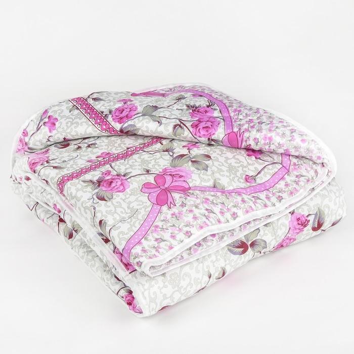 Одеяло всесезонное, синтетическое Адамас, размер 172х205 ± 5 см, 300гр/м2, чехол п/э