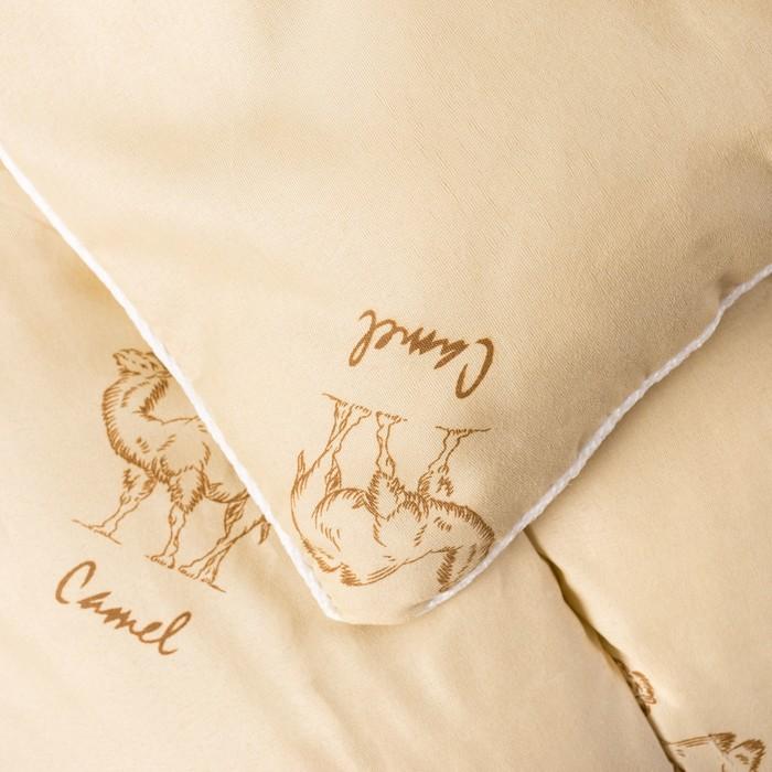 Одеяло Верблюд зимнее 140х205 см, полиэфирное волокно, п/э 100%