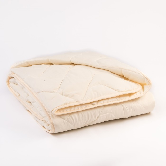 Одеяло Миродель всесезонное, овечья шерсть, 175*205 ± 5 см, микрофибра, 200 г/м2