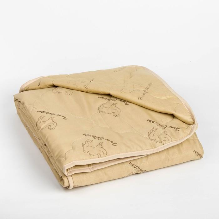 """Одеяло облегчённое Адамас """"Верблюжья шерсть"""", размер 172х205 ± 5 см, 200гр/м2, чехол п/э"""