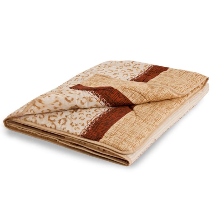"""Одеяло лёгкое """"Золотое руно"""", размер 200х220 см, смесовая, микс"""