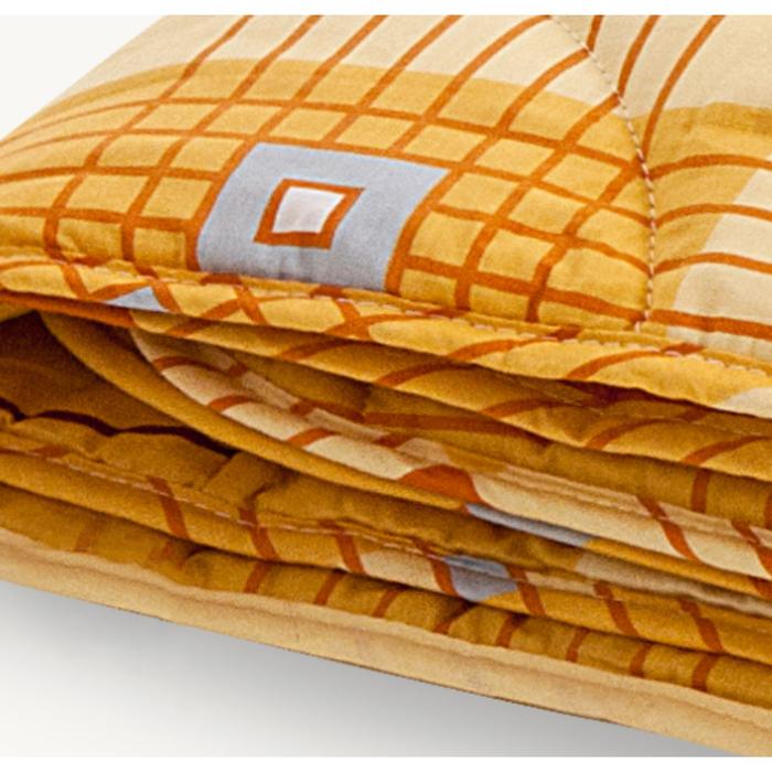 """Одеяло лёгкое """"Полли"""", размер 110х140 см, поплин, микс"""