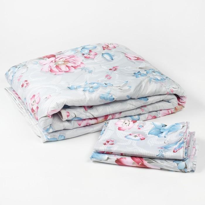 Набор:одеяло 140х205, простынь 150х215, наволочка 50х70, термофайбер, полисатин, пэ 100%