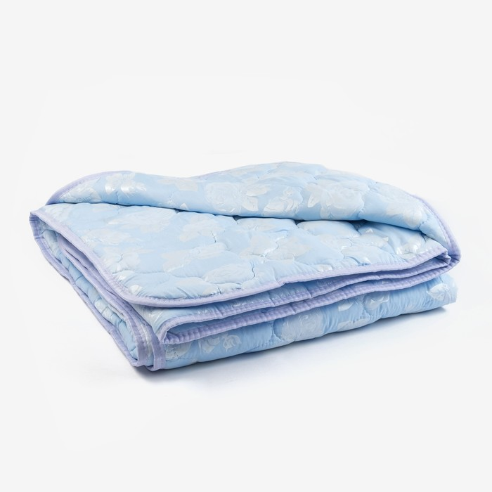 Одеяло «Лебяжий пух», 145х205 см, чехол ТИК пуходержащий, цвет МИКС