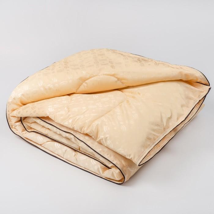 Одеяло облегченное  Верблюд 2,0сп 170*205, 700гр, файбер, трикот 100%пэ