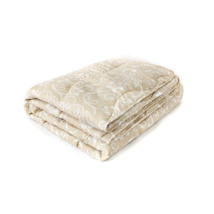 Одеяло Мягкий сон облегченое 172х205 см, Холлофилл 150г/м, микрофибра 70 г/м, чехол МИКС,