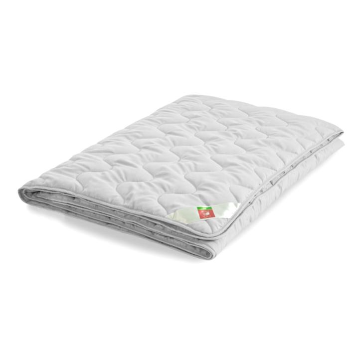"""Одеяло лёгкое """"Тропикана"""", размер 140х205 см, бамбук, белый"""