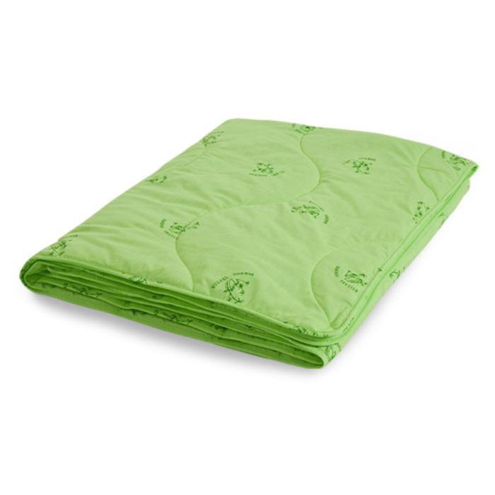 """Одеяло лёгкое """"Бамбук"""", размер 110х140 см, поплин, салатовый"""