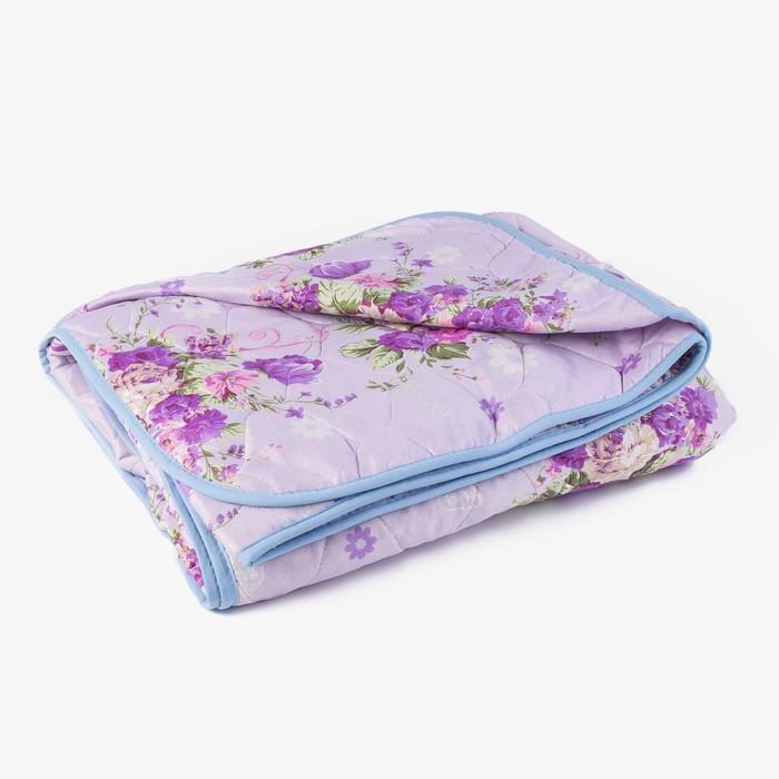 Одеяло Овечья шерсть стеганое облегченное 140х205 см, полиэфирное волокно 150 гр/м2, п/э 100   40650