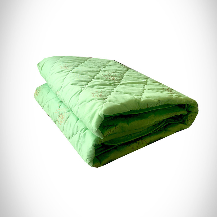Одеяло Бамбук 172х205 см 300 гр, пэ, чемодан