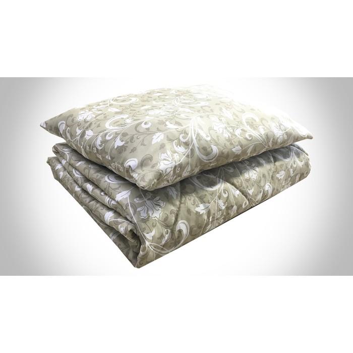 Комплект «Рабочий»: постельное бельё 1,5 сп; подушка 50х70 см; одеяло 140х205 см, цвет МИКС, синтепон (100г/м)